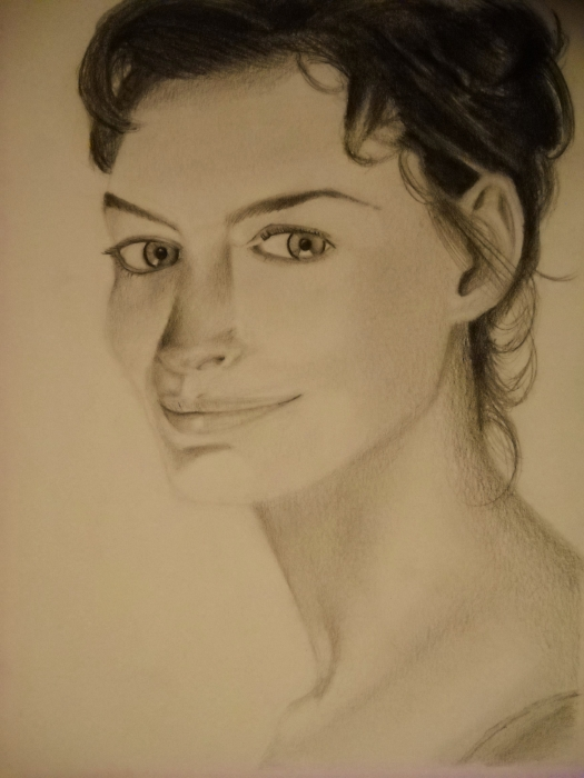 Anne Hathaway by biaky10
